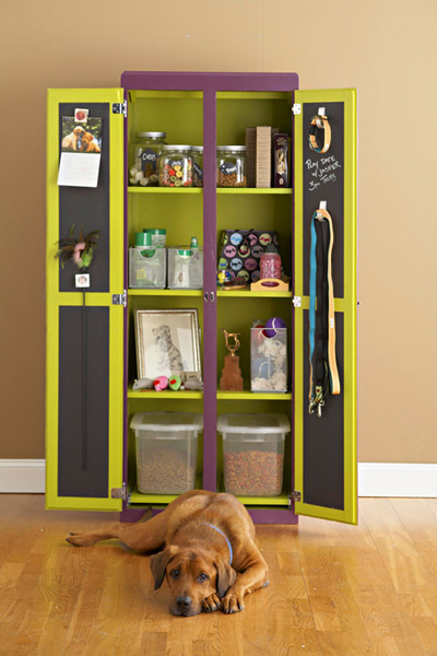 How To Keep Your Pet Supplies Neatly
