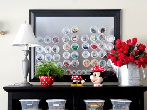DIY Picture-Like Magnetic Storage For Small Things
