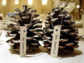 Pinecone Party Favors