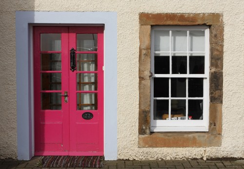 Pink Front Door Design & 15 Pink Front Door Designs That Inspire - Shelterness