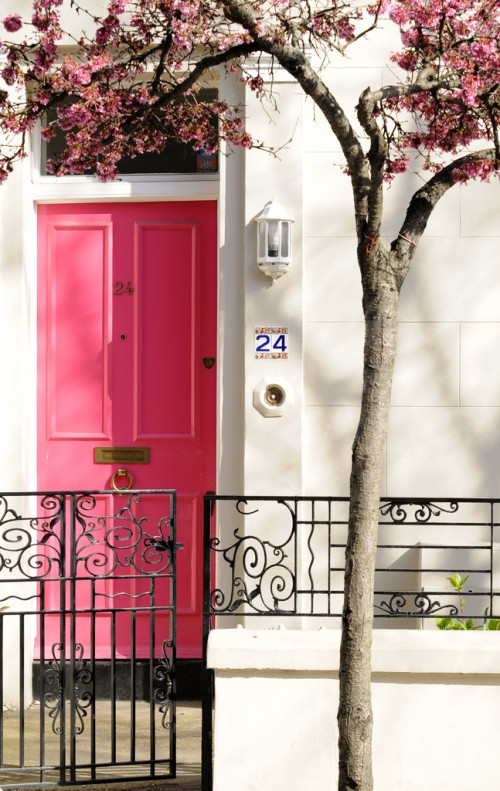 White House Black Shutters Door Color