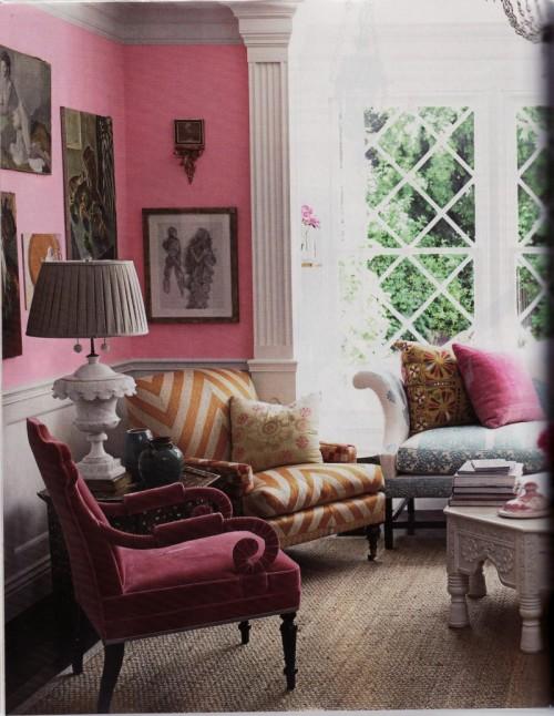 Pink Room Design Ideas Part - 34: Pink Room Design Ideas