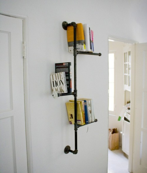 Pipe Industrial Bookshelf