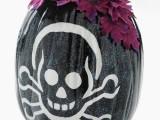 Pirate Head Halloween Pumpkin