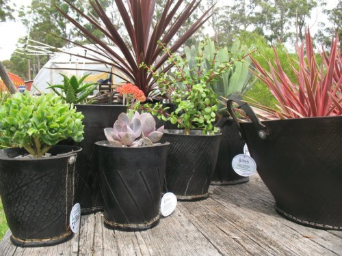 Cool Planters Made Old Tyres