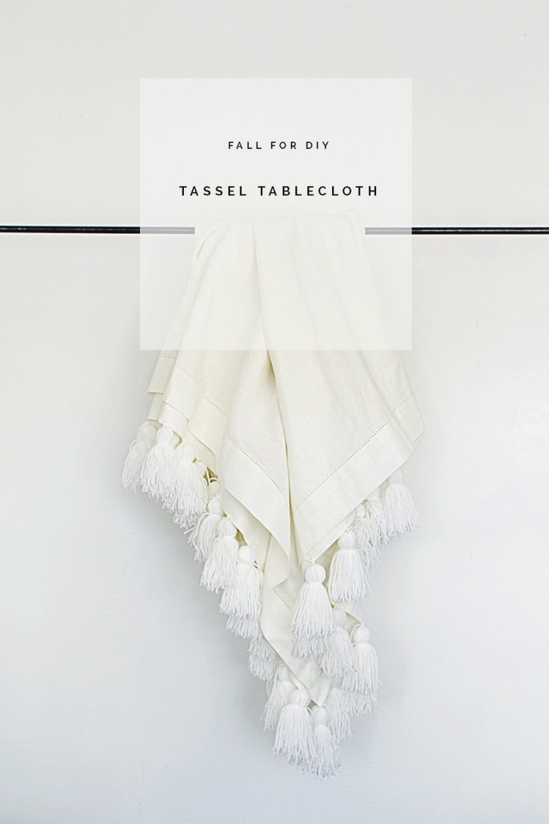 tassel tablecloth