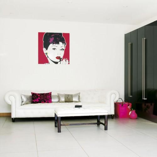 Pop Art Details On Walls