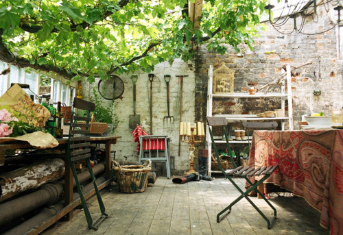 Potting Shed In A Sunroom