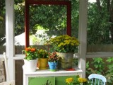 Potting Shed On A Front Porch