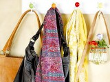 hang your bags on usual clothes racks and hooks and you'll get more storage space and bags always at hand