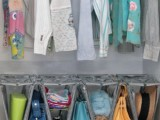 such a comfortable accessory organizer can hold little bags, hats and other small stuff and keep them in perfect order