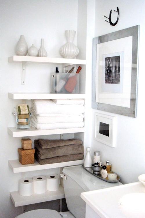 Practical bathroom storage ideas 12