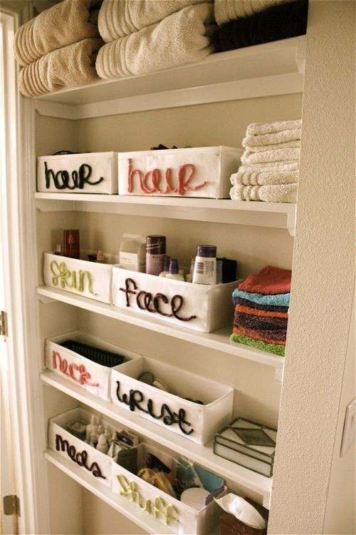 Practical Bathroom Organization Ideas Shelterness - Bathroom closet organization ideas