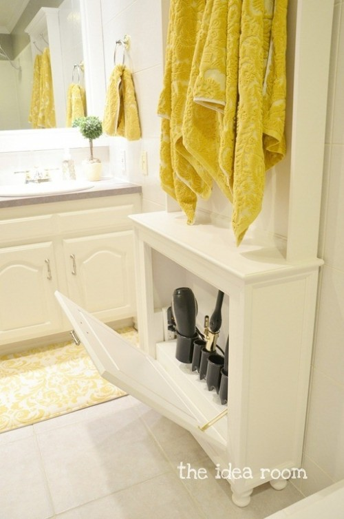 43 Practical Bathroom Organization Ideas - 19 - Pelfind