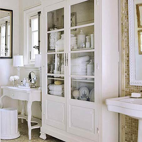 picture of practical bathroom storage ideas