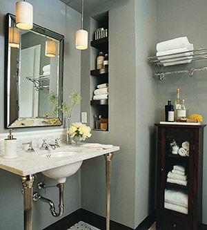 40 практических идей организации ванной комнаты.