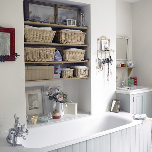 Practical Bathroom Storage Ideas | Shelterness