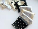 metallic envelope card holders