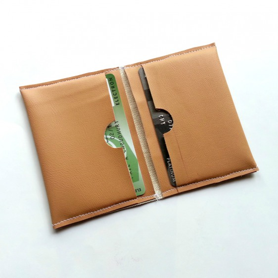 multiple leather card holder