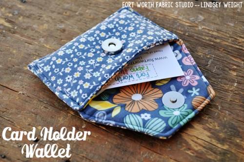 fabric card wallet (via fortworthfabricstudio)