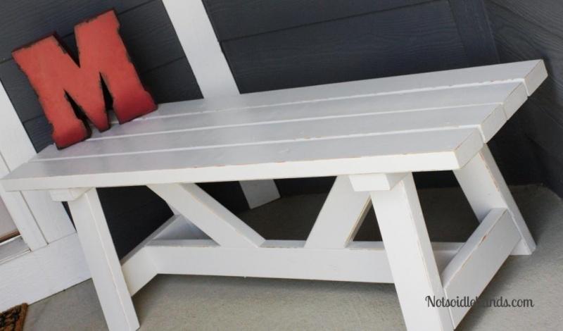 providence porch bench