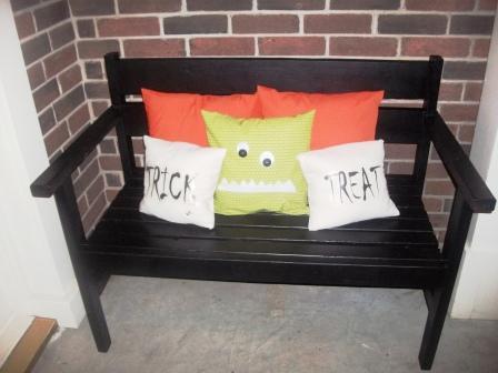front porch bench (via ana-white)