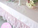 no sew ruffle tablecloth