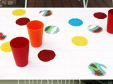 circle patches tablecloth