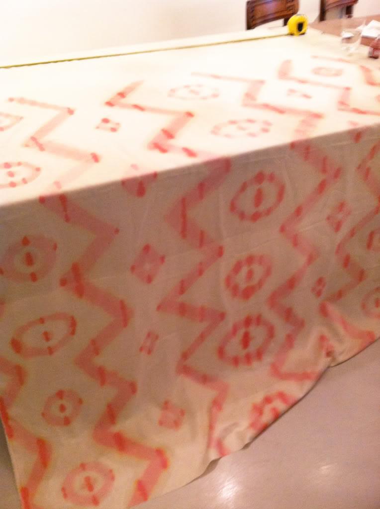 ikat tablecloth