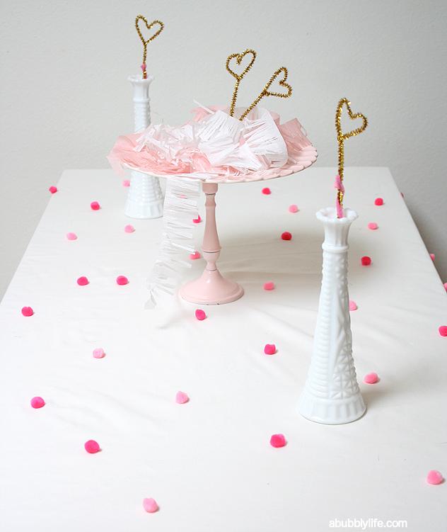 pompom tablecloth
