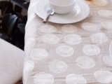 polka dot tablecloth