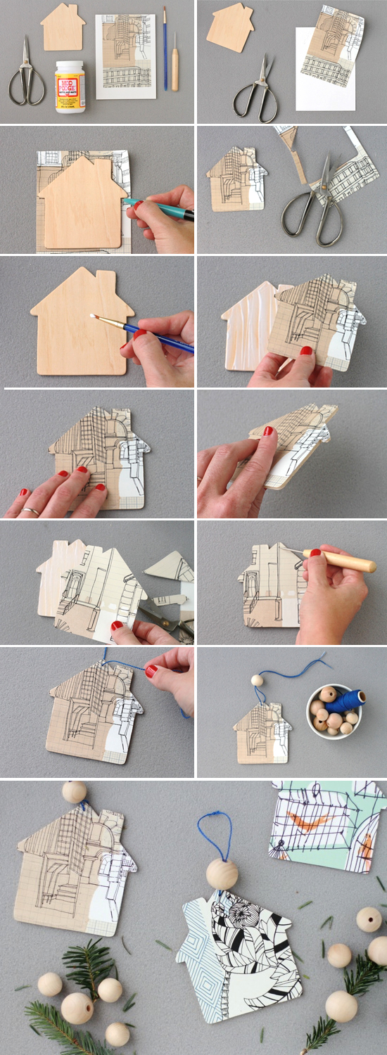 Pretty DIY Home Ornaments For Your Christmas Tree » Photo 3