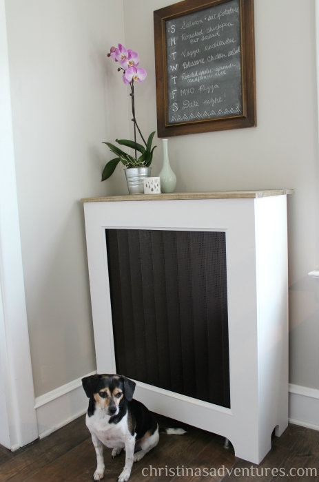 Pretty Diy Radiator Cover To Make Shelterness