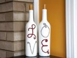 Pretty Diy Valentines Day Decoration Of Wine Bottles