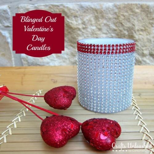 rhinestone candleholder (via craftsunleashed)