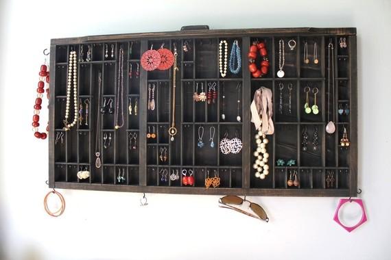 Printer Drawer Jewelry Organizer