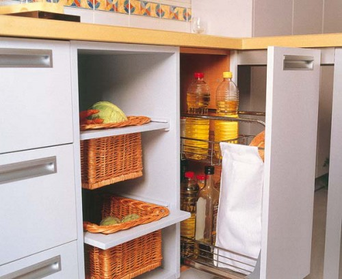 Pull Out Kitchen Baskets