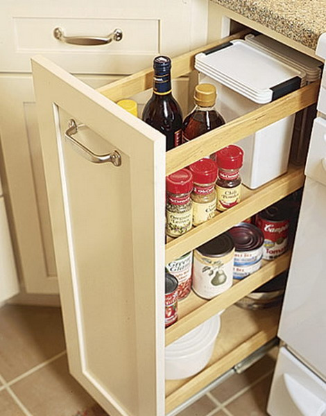 Pull Out Kitchen Cabinets
