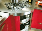 Pull Out L Shaped Kitchen Cabinets