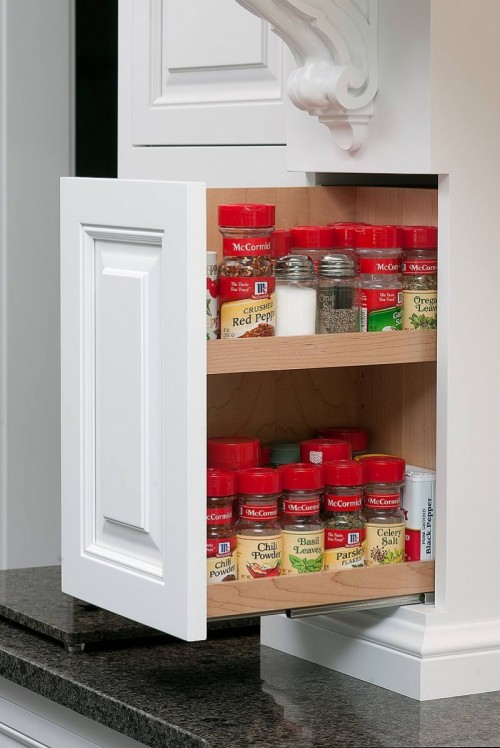 10 Pull Out Spice Storage Solutions