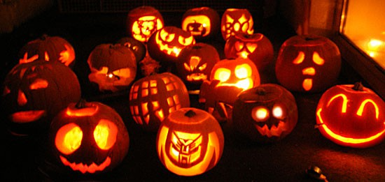 Gallery For gt Cute Halloween Carved Pumpkins