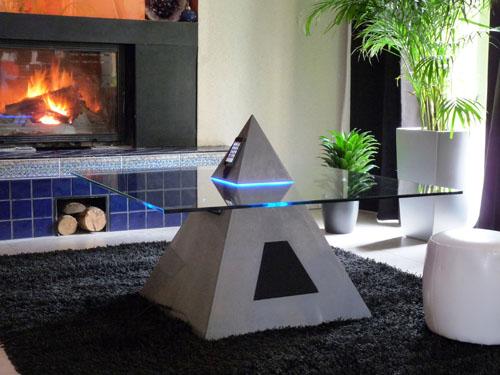Pyramid Coffee Table (via)
