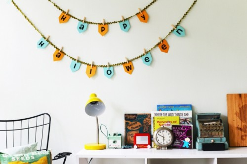 Quick And Simple Diy Halloween Bunting
