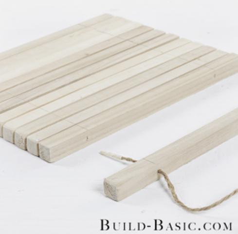 Quick To Make Diy Slatted Wooden Trivet Shelterness