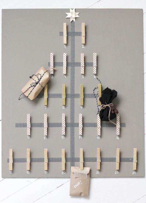 Really Cute DIY Advent Calendar