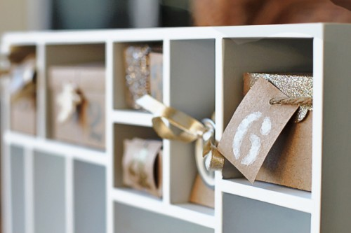 Recycled DIY Advent Calendar