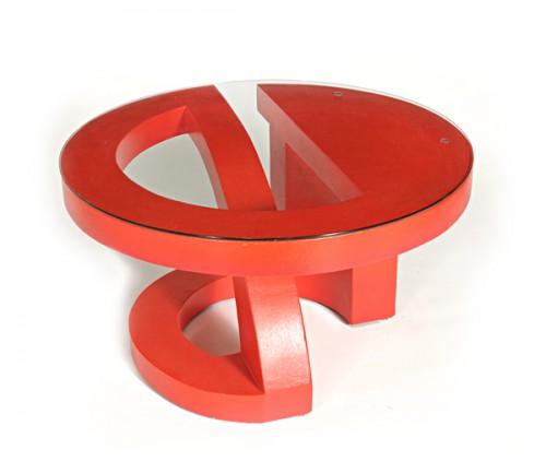 Red Coffee Table (via)