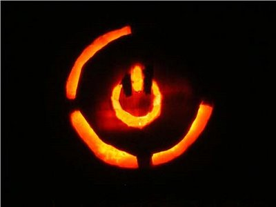 Red Ring Death Pumpkin