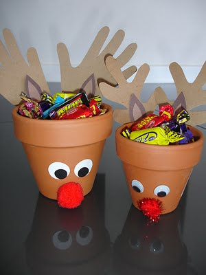 Reindeer Craft Treat Holder