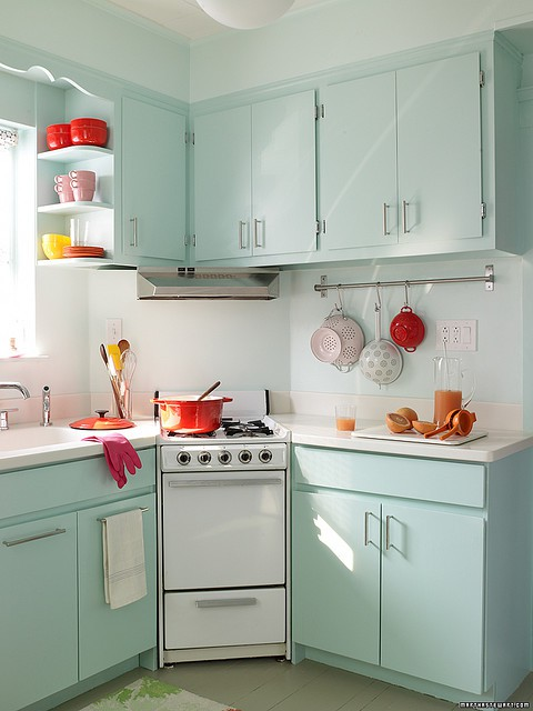 awesome Retro Kitchen Design Pictures #6: 17 Retro Kitchen Designs To Inspire You